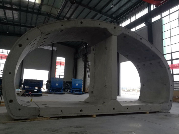 CBE delivers technical gallery moulds - Tunnels & Tunnelling